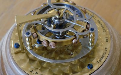 Tourbillon met Chronometergang